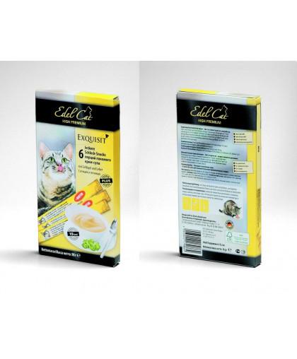 Edel Cat лакомство для кошек крем-суп 90 гр