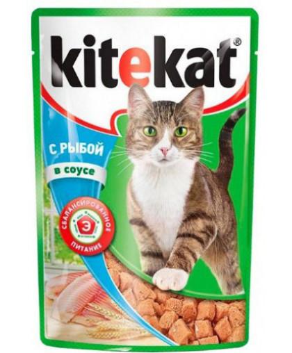 Kitekat влажный корм для кошек 85 гр