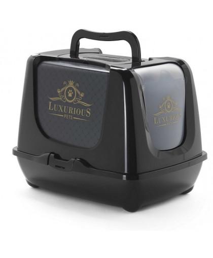 Moderna Luxurious био-туалет 50x39x37h см с совком, черный