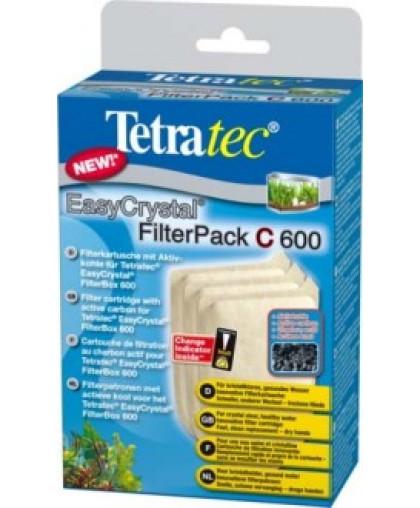 TETRA TEC EC Filter pack 600 C Картриджи с активированным углем для внутренних фильтров 3 шт  174665