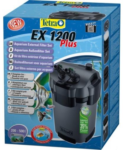 TETRA EX 1200 Plus внешний фильтр для аквариумов 200-500 л  241015