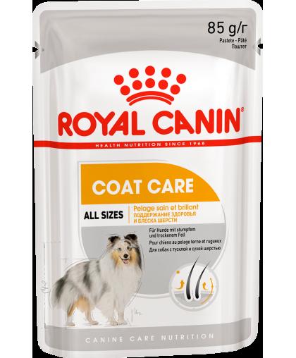 Royal Canin COAT BEAUTY POUCH LOAF Влажный корм для собак с тусклой и сухой шерстью
