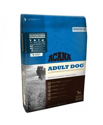 Аcana Adult Dog корм для взрослых собак с курицей