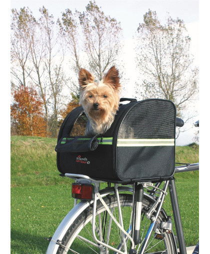 Trixie Сумка для велоперевозки Biker-Bag, чёрный 35x28x29 см