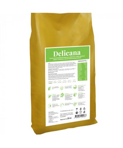 Delicana сухой корм для собак крупных пород ягненок с рисом