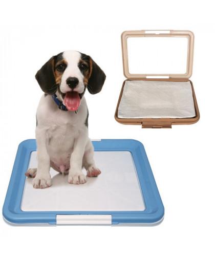 Туалет для собак под пеленку большой 63*49*4 см Р586-А