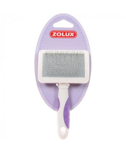 Zolux Пуходерка пластиковая для кошек малая,S