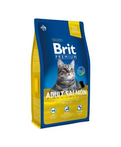 BRIT Premium Cat д/кошек взрослых 800г лосось в соусе