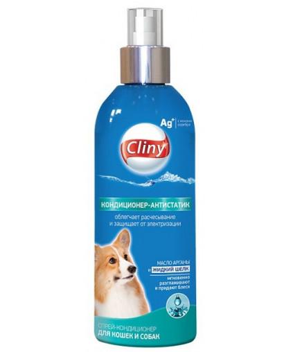 Cliny K312 Кондиционер-антистатик Спрей для кошек и собак 200 мл