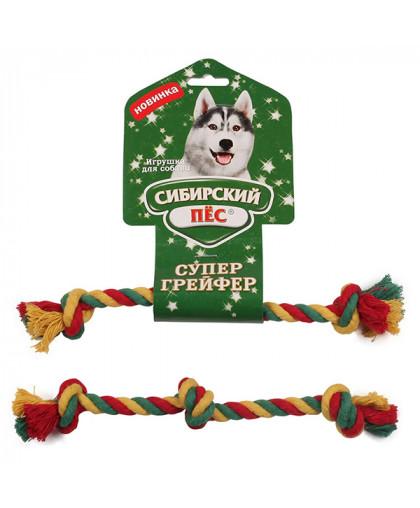 """Грейфер """"Сибирский пес"""" цветная веревка 3 узла D 10/250 мм"""