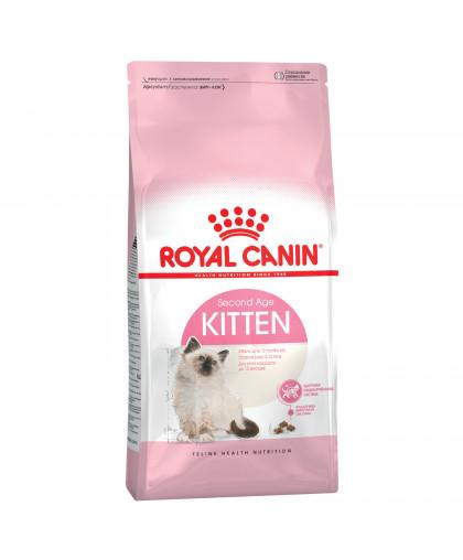 Royal Canin Kitten 36 корм для котят в возрасте от 4 до 12 мес