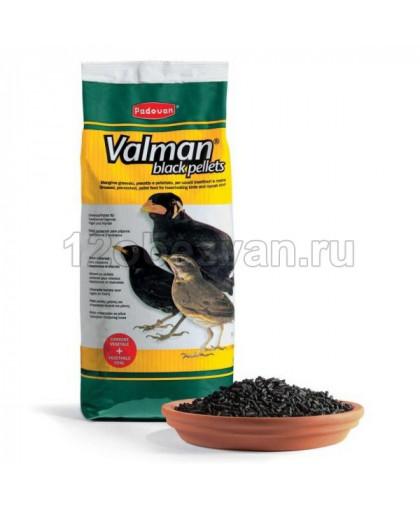 Padovan VALMAN Black Pellets корм для насекомоядных птиц дополнительный