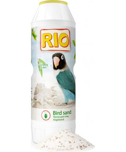 Гигиенический песок RIO с экстрактомэвкалипта и ракушечником 2кг.