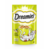 Dreamies лакомство для кошек 60гр*
