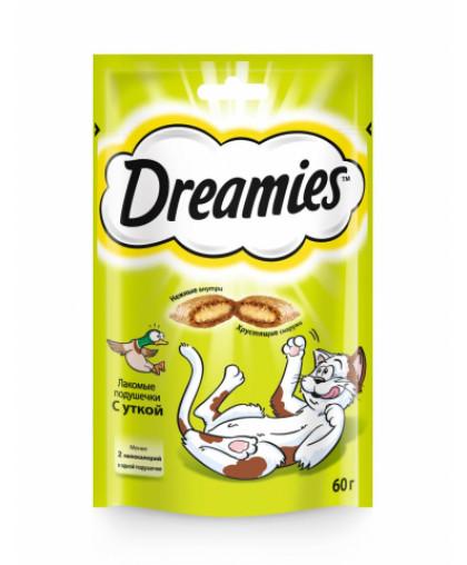 Dreamies Лакомство для кошек подушечки 60 гр