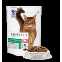 Perfect Fit  Sterile Beef корм для стерилизованных и кастрированных кошек с говядиной