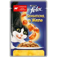 Felix Sensations Влажный корм  для кошек, Пауч, 85 г