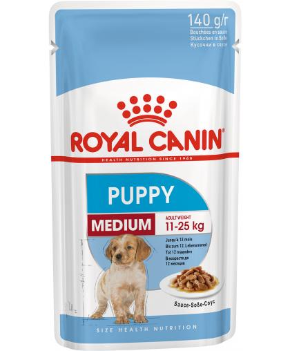 Royal Canin Medium Puppy влажный корм для щенков с 2 до 12 месяцев 140 гр