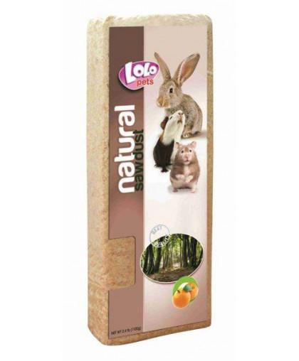 LoLo Pets опилки с ароматом апельсина 1.1кг, 12л