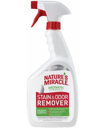 8in1 уничтожитель пятен и запахов от кошек NM Remover Spray спрей 945 мл