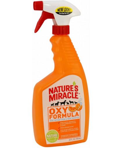 8in1 уничтожитель пятен и запахов от собак NM Orange-Oxy с активным кислородом, спрей 710 мл