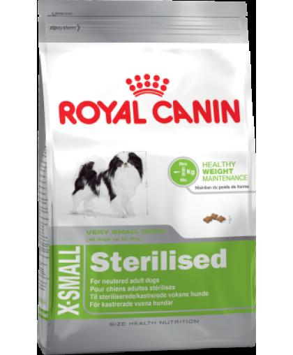 Royal Canin X-Small Sterilised Корм для кастрированных или стерилизованных взрослых собак миниатюрных пород