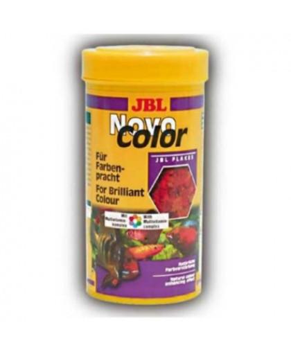 JBL NovoColor Основной корм в форме хлопьев для особенно яркой окраски рыб 100мл (16г)