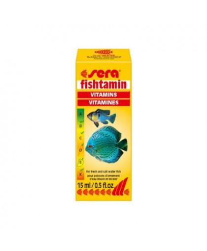 SERA Фиштамин Витамины для рыб 15мл
