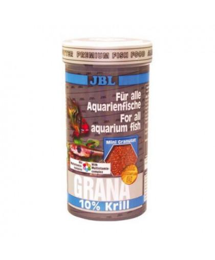"JBL Grana Корм Основной класса ""премиум"" в форме гранул для маленьких рыб, 250мл (110г)"