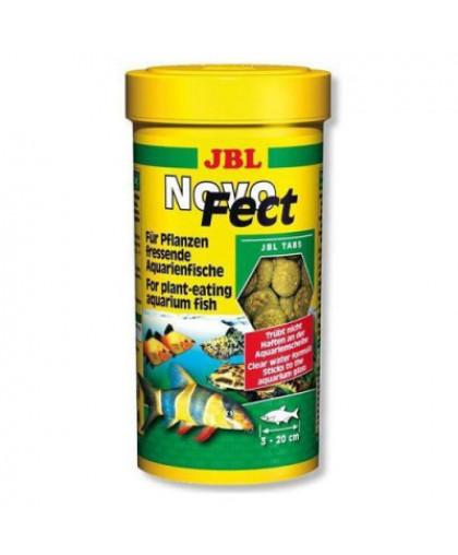 JBL NovoFect  Корм в форме таблеток для растительноядных рыб, 250мл. (400шт)