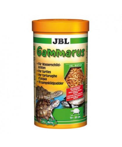 JBL Gammarus корм для водных черепах, очищенный гаммарус 1л (110г)