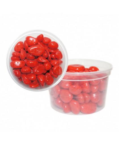 Галька цветная крупная EVIS красная 15х25 мм
