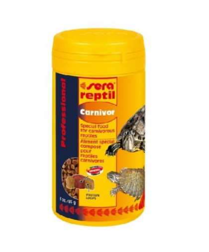 SERA Carnivor корм для плотоядных рептилий 250мл