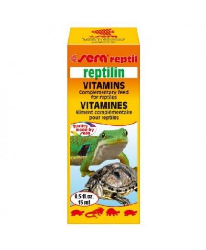 SERA Reptilin мультивитамины для рептилий 15мл