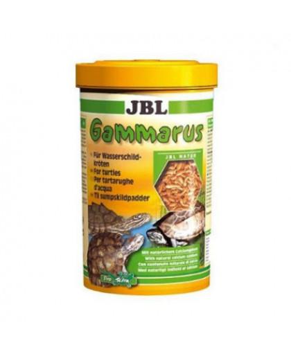 JBL Gammarus корм для водных черепах,очищенный гаммарус спец.упак 750мл(80г)