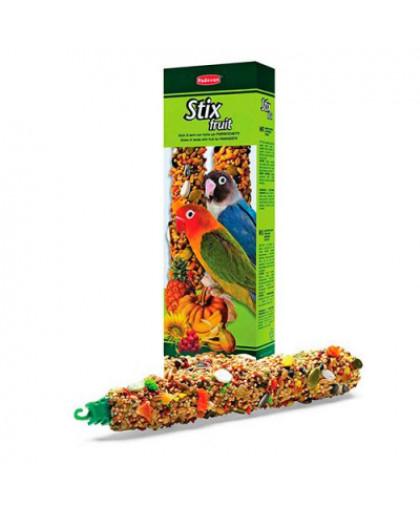 PADOVAN Fruit Stix Лакомство для средних попугаев  фруктовые палочки