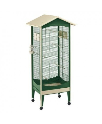 Вольер для птиц FERPLAST BRIO MINI зеленый 60,5x73,5x160см