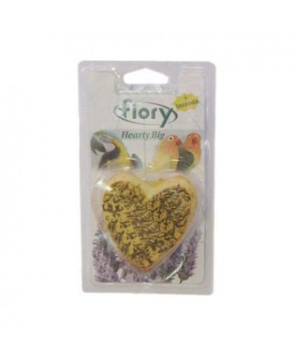 FIORY Био-камень для птиц  в форме сердце  100г