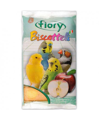 FIORY Лакомство для птиц Бисквиты с яблоком 30г