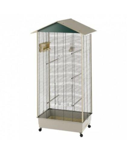 Вольер для птиц FERPLAST NOTA зеленый, 82х58х166см