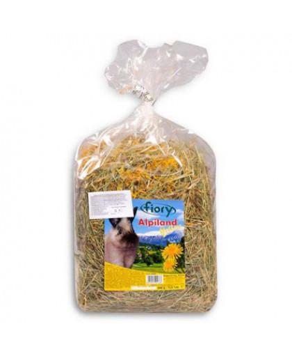 FIORY Alpiland Yellow Корм для грызунов сено с одуванчиком 500г