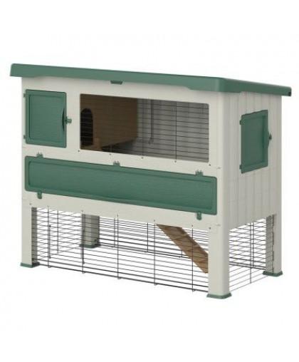 Клетка для грызунов FERPLAST GRAND LODGE 140 зеленая 134x73x110см