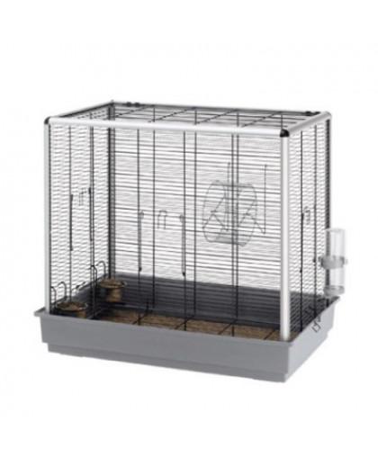 Клетка для грызунов FERPLAST Scoiattoli Kd для бурундуков и белок, черная 80х50х76,5см