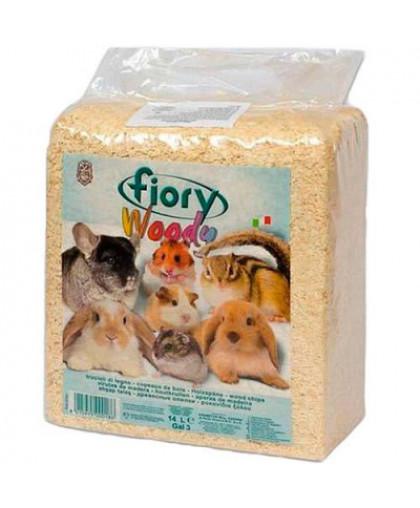 FIORY WOODY Опилки для грызунов  14л