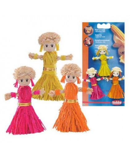Игрушка для грызунов NOBBY Куклы 8см 3шт