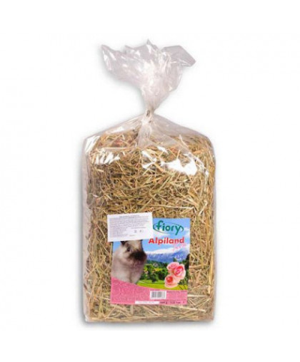 FIORY Alpiland Rose Корм для грызунов сено с розой 500г