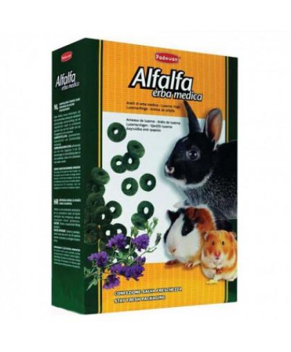 PADOVAN Колечки люцерна для кроликов 150 г