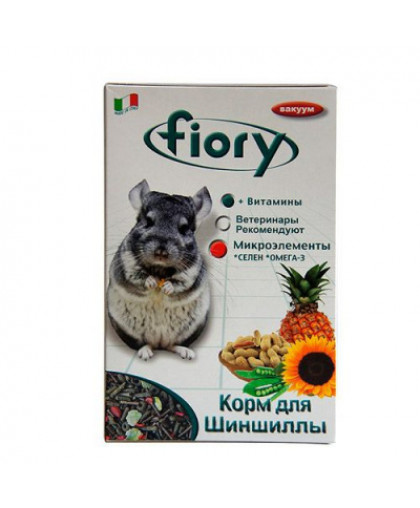 FIORY CINCY Корм для грызунов для шиншилл сух. 800г