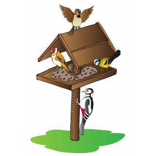 Миски, кормушки и поилки для птиц